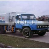 Economic FAW tip head side self-loading garbage truck