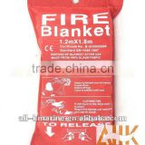 1.2x1.8mtr Glass Fabric Fire Blankets