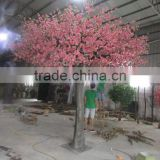 2016 artificial peach flower trees manufacture hot sale flower trees for sale