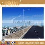 Mang River Landscape Bridge, Straight Line Landscape Bridge, Steel Structure Bridge with Guardrail(BF08-Y10014)