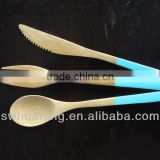 Flatware Type bamboo spoon fork knife/bamboo wood material
