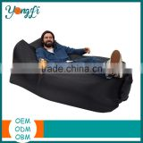 Wholesale Outdoor Camping Hiking Bed Portable Inflatable Nylon Lounger Adult Bear Air Sleeping Bag