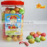 Hot-air Balloon Shape Fruity Flavour Bubble Gum