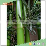 hign qulaity new green Chinese plastic outdoor decor artificial lucky bamboo poles fence plants