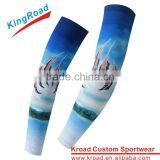 UV Protective custom sublimation arm sleeves New Style arm sleeves sport compression sleeve arm