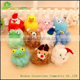 Wholesale cartoon shower puff net bath sponge , Soft & Health baby PE bath puff