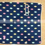 Baby Travel Accessory, Terry fleece stroller blanket , dots pattern Cuddle Care Stroller Blanket