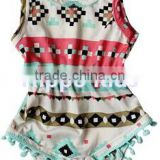 wholesale infant fashion bodysuit dream catcher romper baby clothes romper