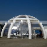 2013 new design inflatable clear tent
