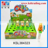 24PCS wind up welter animal plastic candy strong toys