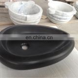 black color granite sink