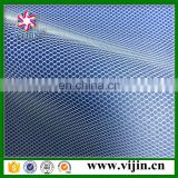 high quality 50d polyester hexagonal types of mesh fabric factory whosale
