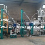 8-10 TPD maize grinding mill prices powder grinder machine flour mill