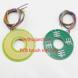 PCB disc slip ring ultra thin slip ring disc slip ring turntable transmission signal special for slip ring mechanical turntable