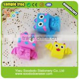 Fancy 3D Bear Animal Shaped Pencil Erasers