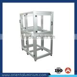 Hot Sales Anodized Aluminium Shelves Profile Framework For Goods Shelf With Factory Price