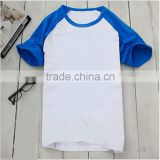 DIY personality custom printed t-shirts ,Pure cotton sulfur t-shirt,round collar t-shirt with sublimation printing