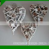 2015 set of 3 Christmas Decorative Heart shape Crafts