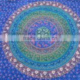 Best quality TREE OF LIFE Tapestry 3D Tiedye boho art mandala gypsy bedcover throw vintage Indian mandala beach blanket