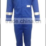 Workwear industrial 100% cotton & EN11612 Flame Retardant & Anti-static reflective safety coverall