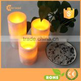 LED Lighted Flickering Votive Flameless Candles- Wedding Decorations- Fake Candles - Flameless Candle Set