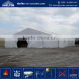 Promotional wholesale 650g/sqm PVC coated fabric side wall cover 20x50 marquee tent / warehouse tent fire resistance gazebo
