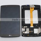 Black for LG G Pad 8.0 V490 LCD Display Touch Screen Digitizer Assembly Replacements                                                                         Quality Choice