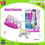 B/O cartoon musical controller toys for baby,Flashing Musical Toy