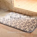 Cobblestone paver mats memory foam rugs bathroom mat washable sets
