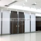 china manufacturer aluminium high quality movable partition for commercial offices