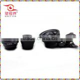 Universal Mobile phone 3 in 1 Wide angle+Macro+Fish eye lens for cell phone/ip/pad/tablet