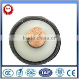 Xinhui oxygen-free copper core xlpe insulation CAS high voltage power cable with CCC certificate