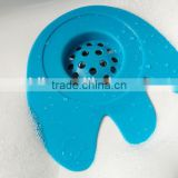 Silicone Sink Strainer Floor Drain Cover Hair Catcher