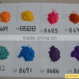 Cheap cosmetic grade chromatic pearl pigment high temperature resistant powder coating 1000