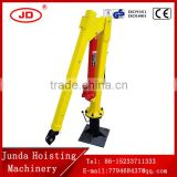 small volume 100-500KG 12V/24V/220V/mini hydraulic vehicle-mounted crane vehicle mounted crane