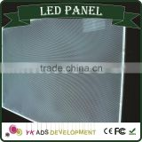 LED backlight panel has Any color available with LED Crystal Light Frame uses include advertising or decoration