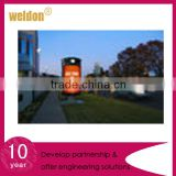 WELDON advertising street furniture displays