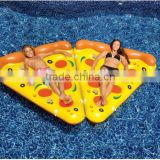 Manufacturer supply inflatable pizza/Swan/Pegasus/flamingos/unicorn floating row water swim ring float                                                                         Quality Choice
