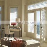 Wholesale cheap price china custom outdoor indoor interior exterior french door window blinds plantation shutters