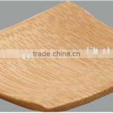 hot sale Hotel&restaurant square bamboo plate