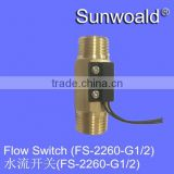 "DN15 Magnetic Brass Water Pump Flow Switch G1/2"" 30L/min                                                                         Quality Choice"