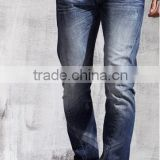 New design men denim jeans destroyed fashion wash hot sale casual baggy funky jeans                                                                         Quality Choice