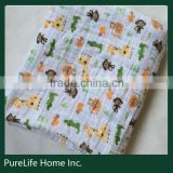 SZPLH High Quality Adult 100% Cotton Fabric Muslin Swaddle Organic Baby Blanket                                                                         Quality Choice