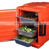 86L Portable Commercial Food Pastry Warmer Case Hot Box Cabinet Plastic non-electric