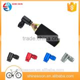 CO2 Cycling CNC machined Alloy aluminium mini bike pump Bicycle Bike Air Pump Inflator + CO2 Cartridges                                                                         Quality Choice