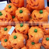 ICTI certificated factory making plastic pumpkin led halloween lights toy