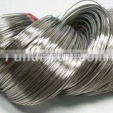 Steel Bracelet Memory Wire 5.5CM, Stringing Materials, Wire: 1.0mm, about 350 circles/500g (MW5.5cm-1)