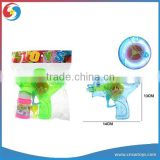 CB1803137 Transparent Color Light Up Dolphin Bubble Gun