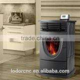 1032.3*539.1*595.4 mm indoor ceramic fireplaces pellet stove china