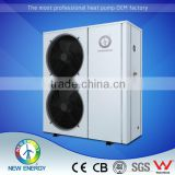 Customized For Extremely Cold High Efficiency normal EVI low temperature air to water Inverter heat pump